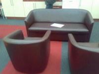 Ensemble canape et 2 fauteuils