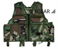 Gilet Tactical Woodland