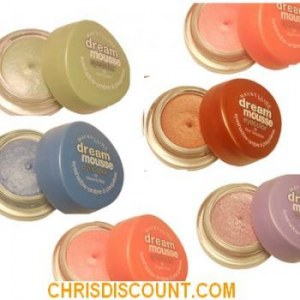 Lot de 6 Dream mousse eyecolor