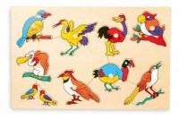 Puzzle a poser oiseaux
