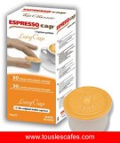 Dosettes et capsules de cafe espressocap