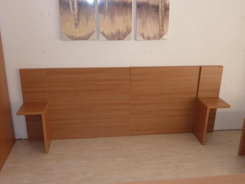 t tes de lit avec chevet int gr destockage grossiste. Black Bedroom Furniture Sets. Home Design Ideas