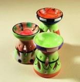 Brûle-parfums céramique colorés