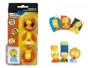 Blister de 3 Figurines Les Simpsons
