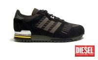 Sneakers de marque DIESEL ADIDAS ZX700 en destockage