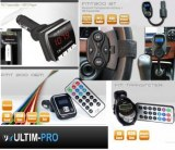 TRANSMETTEUR FM LECTEUR MP3 WMA SD USB TELECOMMANDE
