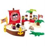 Bateau de pirate - jeux de construction