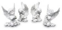 Lot de 4 Anges