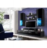 Ensemble tv - 3 éléments - noir