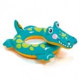 Bouée gonflable - crocodile - intex