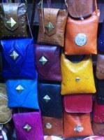 Beau sac à main en cuir