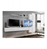 Ensemble tv - 8 éléments - blanc