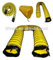 """4 """"-60"""" résistant Au Feu sprial ventilation conduit flexible"""