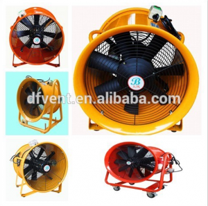 "8 "" - 24 "" Super speed portable hélice ventilateur"