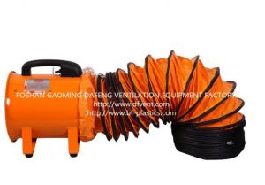 Oem de production conduit flexible et portable ventilateur