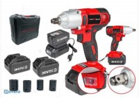 KM-CORDLESS/IMPACT WRENCH/ CLE A CHOC 36V DOUBLE KRAFTMULLER