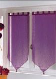 Paire Voilage Luminéa PRUNE 60 X 120 cm