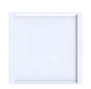 (DESTOCKAGE) Carton de 24 - Assiette carrée QUADRA 21 / 24 cm
