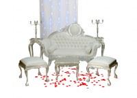 Grossiste mobilier Argenté, Doré, Cérusé, - Deco-privé