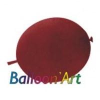 NOUVEAU 50 ballons Bordeaux 30 cm nacrés pour guirlande