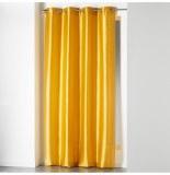 Rideau à oeillets - 140 x 240 cm - shantung - moutarde