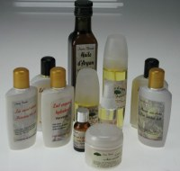 LOT DE COSMETIQUE A L'ARGAN