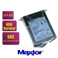 Disque dur pour serveur Maxtor Atlas 15K II SAS - 147,1 Go