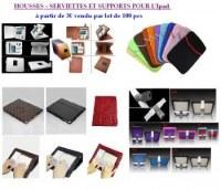 Housse - serviettes - supports pour IPAD