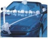 Kit de décoration voiture des mariés Blanc