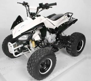"Quad 125cc Carbone 8"" semi-auto Livr/Offerte"