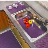 Tapis multi-usage souple tubulo - 65 x 43 cm - violet