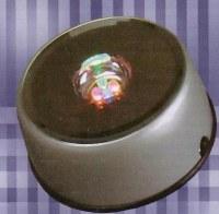 Socles lumineux rotatif à coul. alter. à transfo