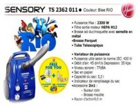 Aspirateur Hoover Sensory Bleu