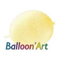 NOUVEAU 50 ballons Ivoire 30 cm nacrés pour guirlande