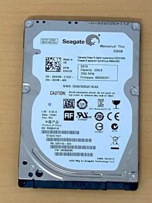 "Lot disque dur pour pc portable HDD 320GO 5400RPM 2.5"" SATA Seagate, WD,..."