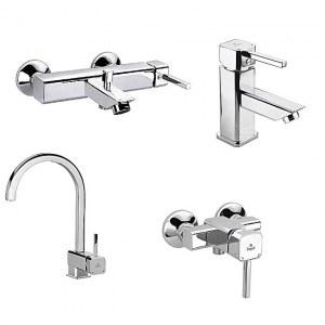 Lot de robinetterie de salle de bain , colonnes de douche et accessoires plomberie sanitaire