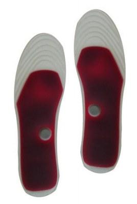 Paire de semelle rouge confort gel & aimant
