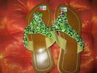 Sandal ETE avec perle montées main