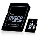Micro SD 2gb vrais capacite haute qualite, satisfait ou rembourse