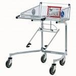 Chariot libre-service pour fauteuil roulant