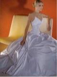 Robe de mariée à bretelles