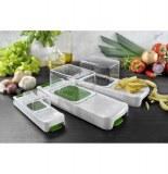 Coupe légumes alligator - set de 3 appareils