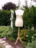 Buste mannequin femme couture