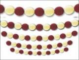 NOUVEAU !  50 ballons Blancs nacrés pour guirlande