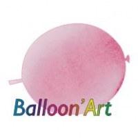 NOUVEAU 50 ballons Rose 30 cm nacrés pour guirlande