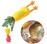Infuseur poulet à bouquet garni épices pour bouillon ou repas qui mijote