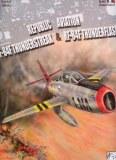 """VDS LOT 50 SETS """"2 MAQUETTES AVIONS F-84F 1/48 + REVUE"""" Marque REDUX Models"""