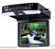 Lecteur DVD DIVX Ecran plafonnier 26,5 cm TV Neuf