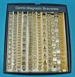 """Lot X12 Bracelets """" Magnetique """" Homme"""
