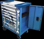 KRAFTMULLER FLEXIBLE SERVANTE D ATELIER 7 TIROIRS KM-7/7-RACING FLEXIBLE TOOL CABINET
